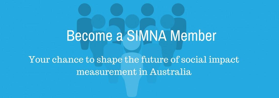 Be a SIMNA Member!