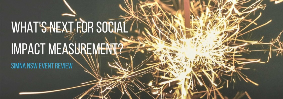 The year that was & emerging trends in social impact measurement