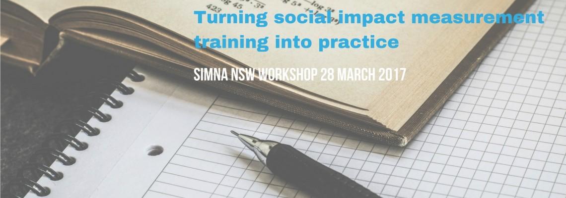 SIMNA NSW workshop 28 March 2017 in Sydney