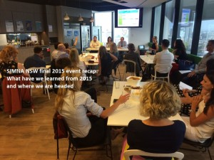 SIMNA NSW final 2015 event recap: What have we learned from 2015 and where we are headed