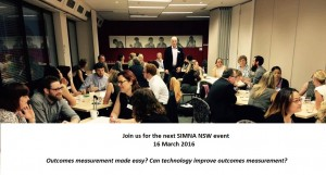 SIMNA NSW event: technology & outcomes measurement