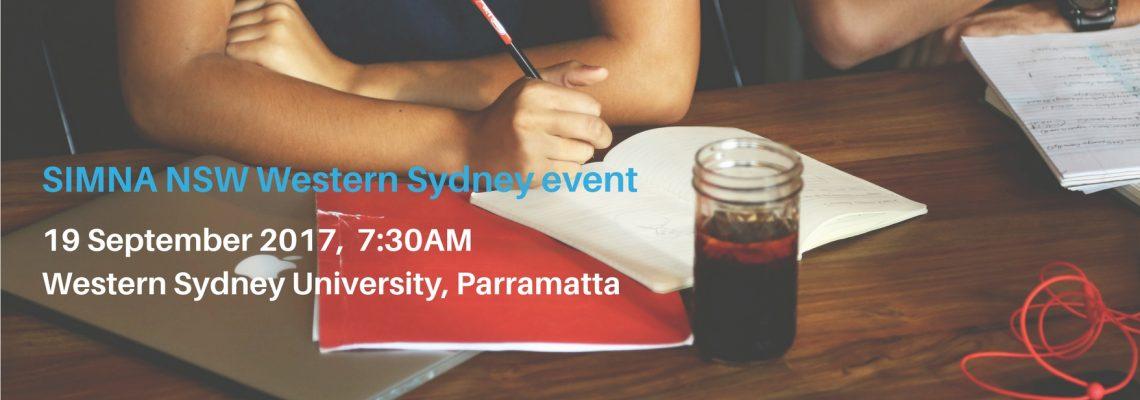 SIMNA heads to Western Sydney