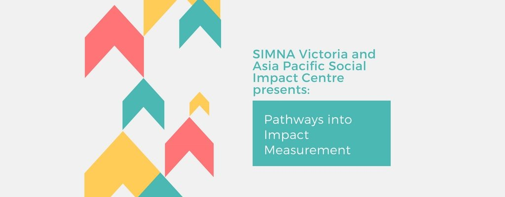 SIMNA VIC Blog: Pathways into Impact Measurement
