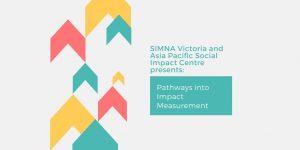 SIMNA VIC Blog: Pathways into Impact Measurement