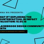 SIMNA WA Event: What if? Exploring the counterfactual in impact evaluation