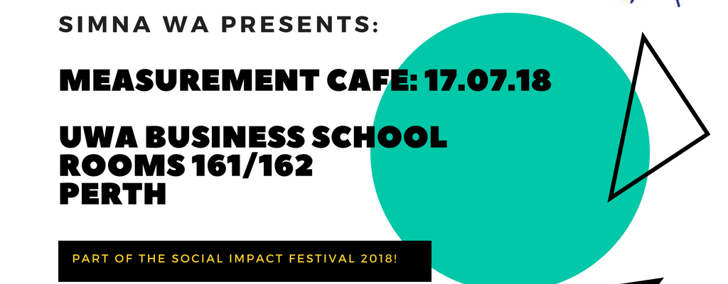 SIMNA WA Event: Measurement Cafe