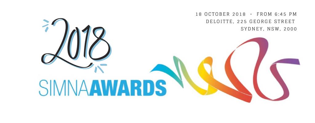 SIMNA NSW Event: 2018 SIMNA Awards Ceremony