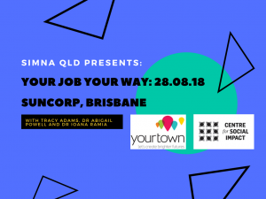 SIMNA QLD Event: Your Job Your Way