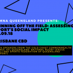 SIMNA QLD Event:  Winning Off the Field – Assessing Sport's Social Impact