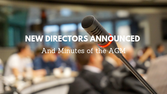 AGM, Annual Review and New Directors Announced