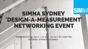 SIMNA Sydney Post Event Blog: 'Design-a-measurement' networking event