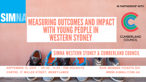 SIMNA WS Event: Measuring outcomes and impact with young people in Western Sydney